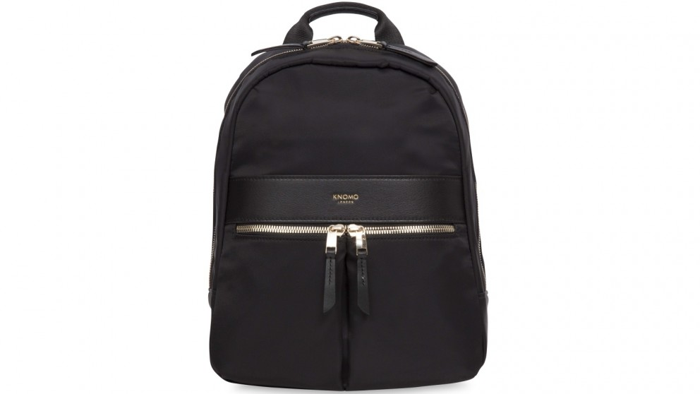 "Knomo Mayfair Mini Beauchamp 10"" Small Backpack - Black"