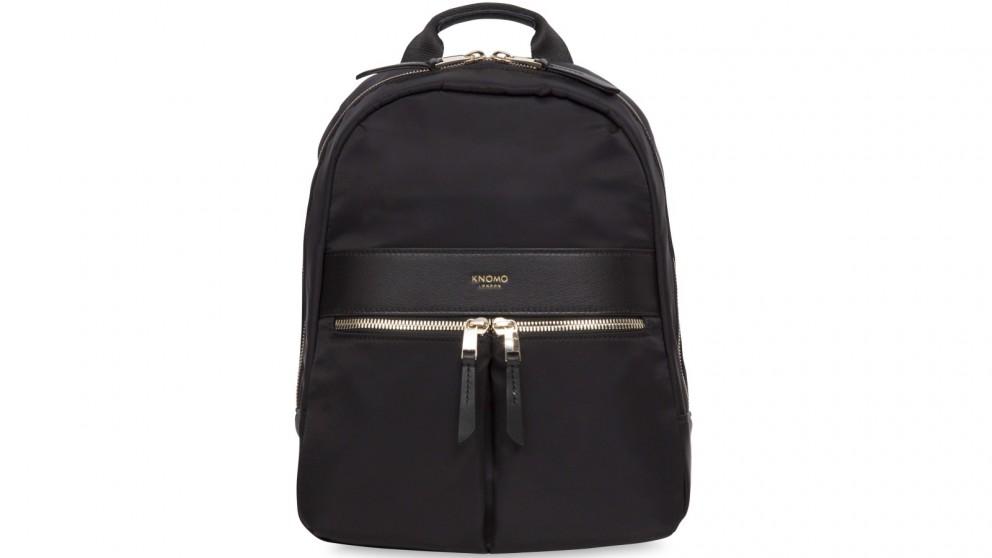 "Knomo Mayfair Mini Beauchamp 10"" Small Backpack - Black"