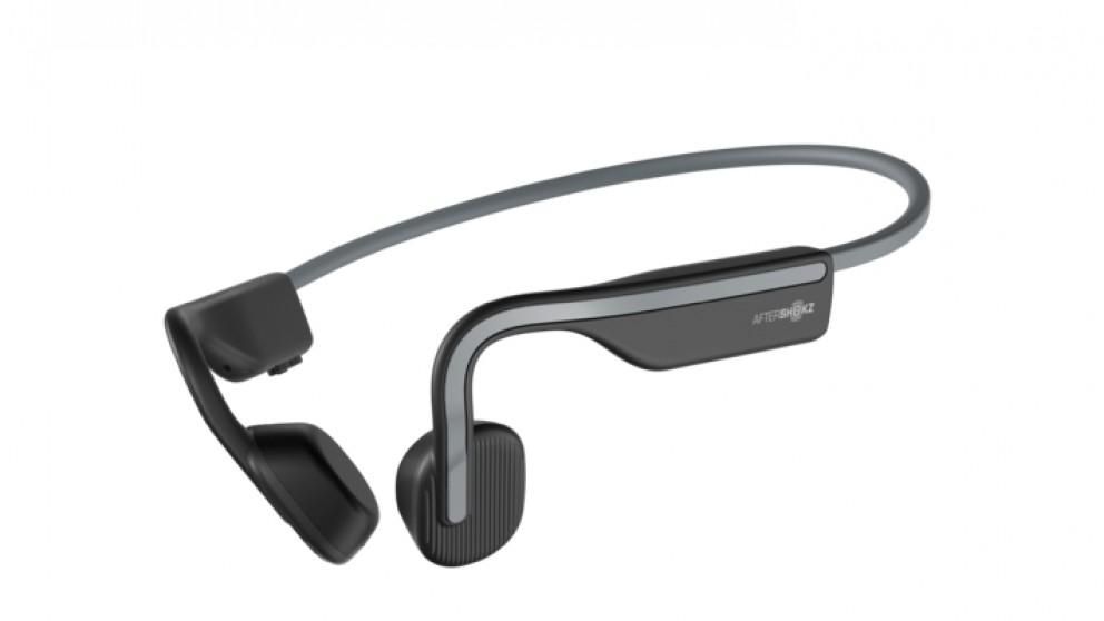 AfterShokz Open Move Wireless Bluetooth Headphones - Slate Grey