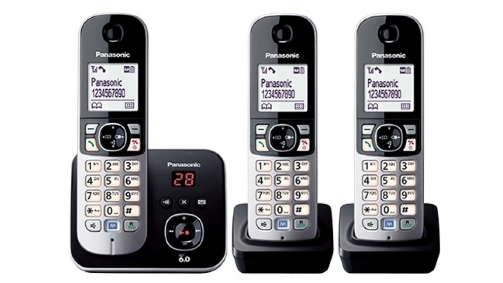 500547daa12 Buy Panasonic DECT Triple Handset Cordless Phone