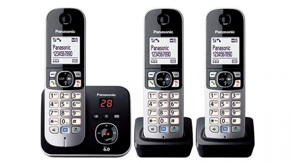 Panasonic DECT Triple Handset Cordless Phone