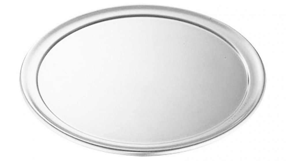 SOGA 12-inch Round Aluminum Steel Pizza Tray Home Oven Baking Plate Pan
