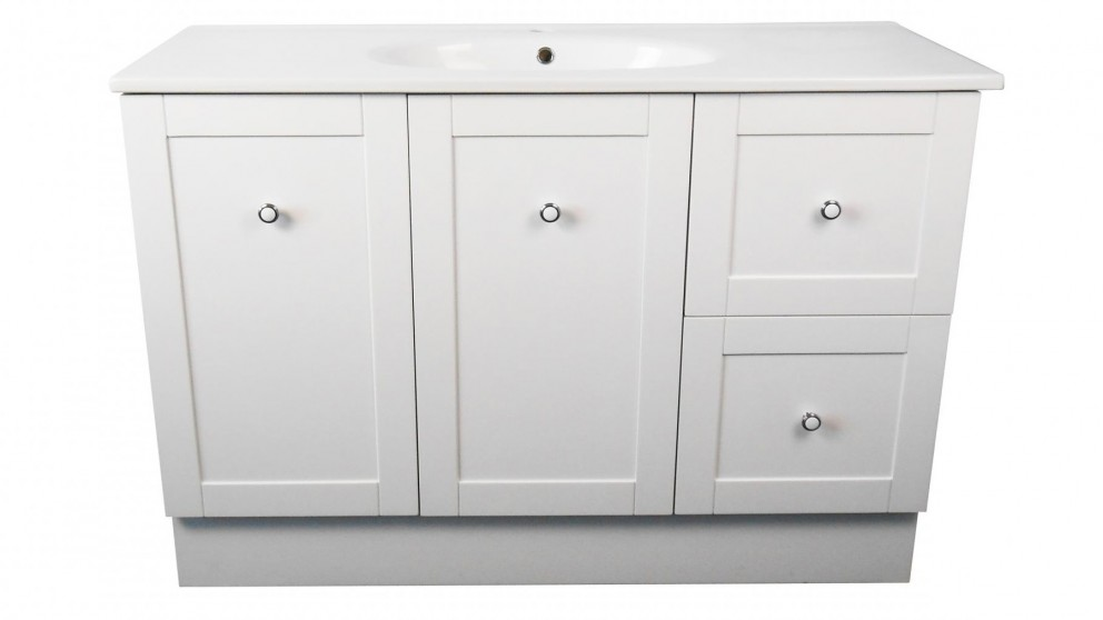 Ledin Hoxton 1200mm Vanity with Orion Top - White