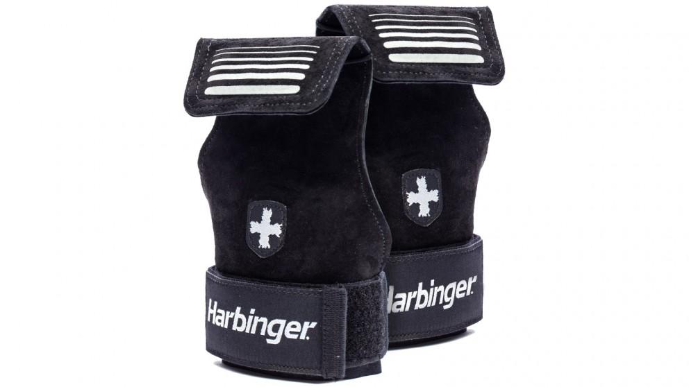 Harbinger Lifting Grips Black Gloves - Small/Medium