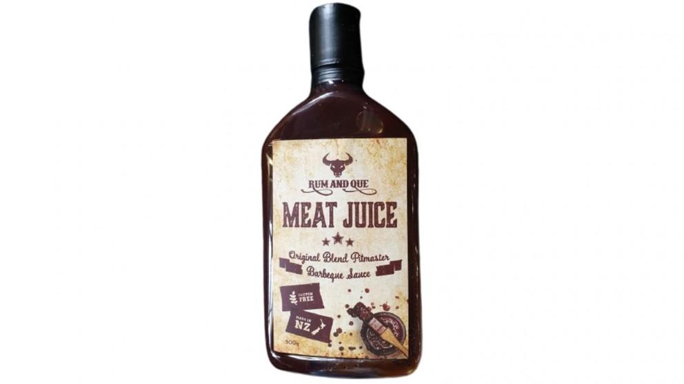 Rum & Que Meat Juice Sauce