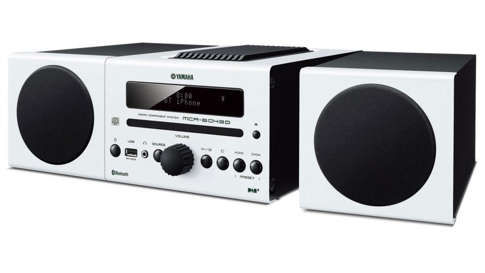 Yamaha Micro Component Hi-Fi System - White