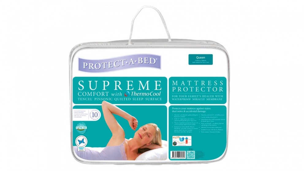 Protect A Bed Supreme Single Waterproof Mattress Protector
