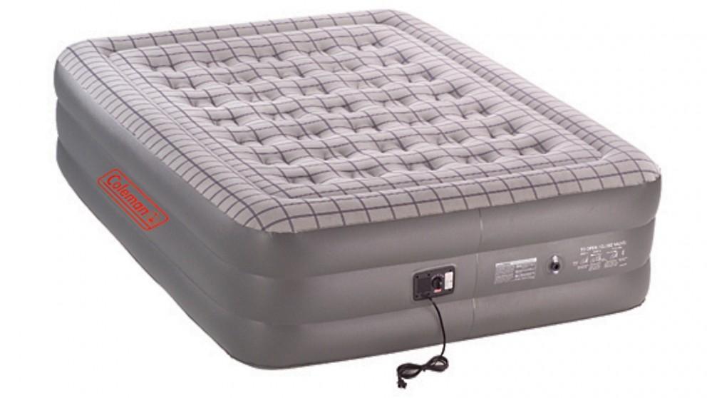Coleman Quickbed Double High Inflatable Mattress (Queen Bed) - Grey