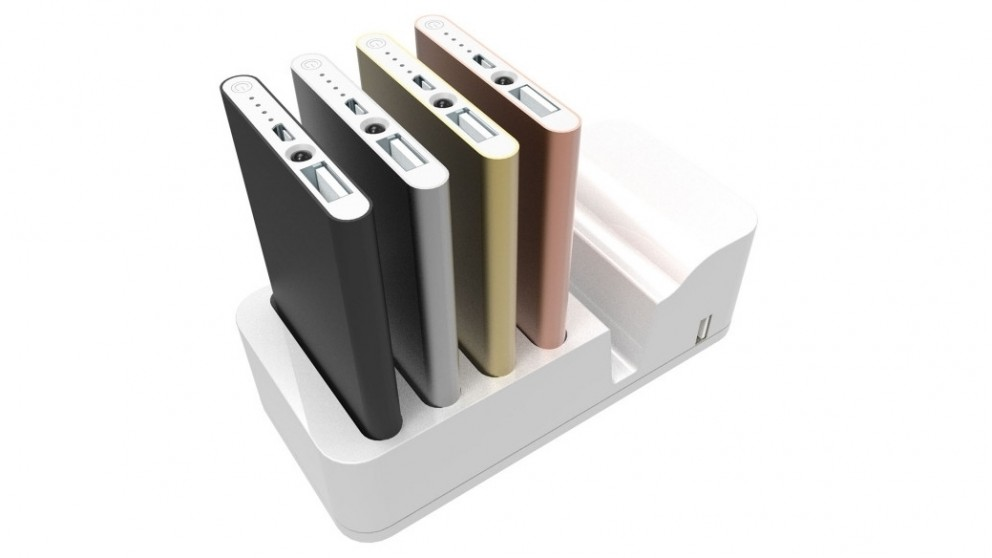 Precision Power Bank Charging Station and 4 x Power Banks
