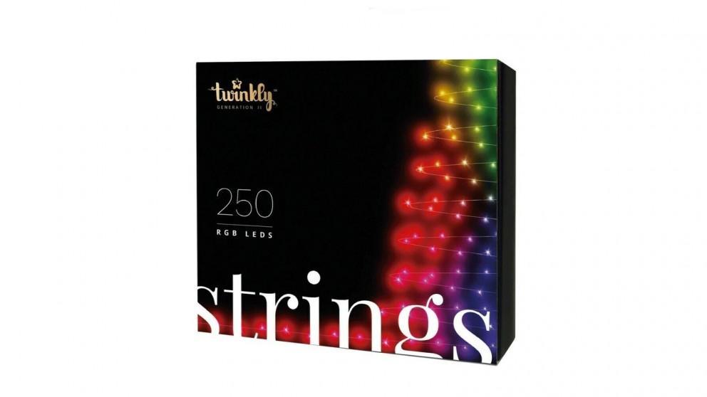 Twinkly App-Controlled 250 RGB LED String Light AU Plug Generation II