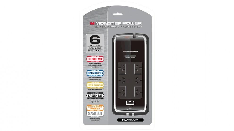 Monster Platinum AV 600 Surge Protector
