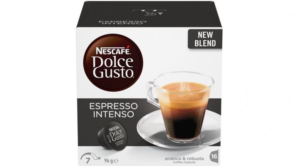 Nescafe Dolce Gusto Espresso Intenso 16 Coffee Capsules