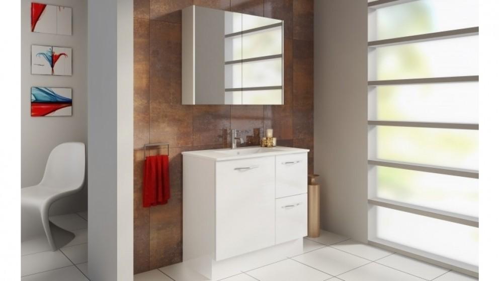 Buy timberline denver 90cm shave cabinet harvey norman au for Bathroom cabinets harvey norman