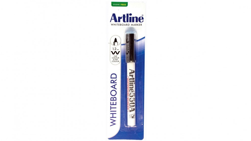 Artline 550A Whiteboard Marker - Black