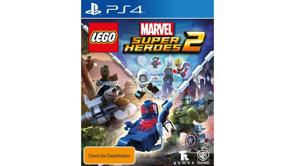 buy lego marvel super heroes 2 ps4 harvey norman au