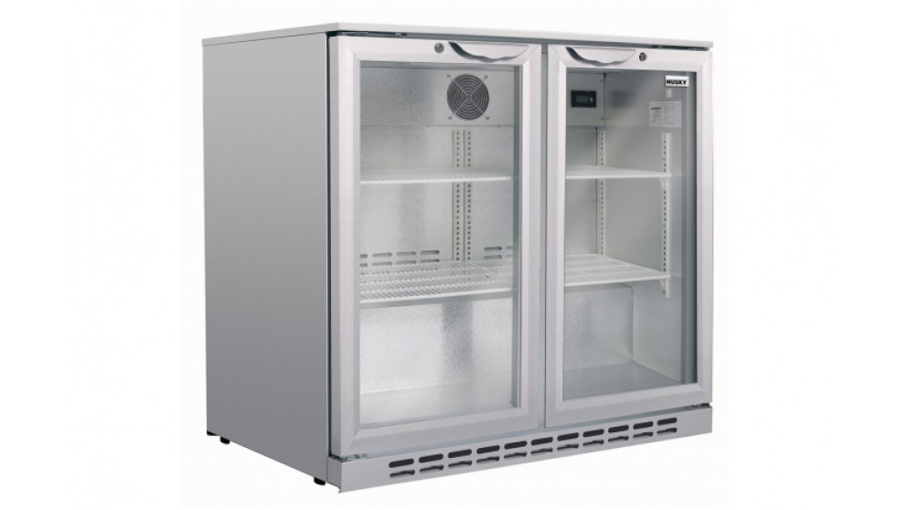 Buy Husky 165l Double Door Back Bar Fridge Harvey Norman Au