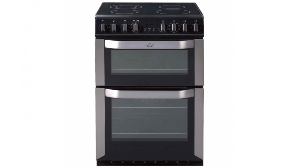 Belling 600mm Freestanding Electric Cooker with Double Oven