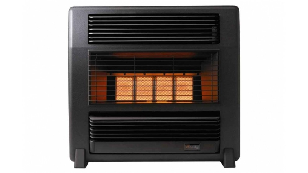 Everdure Lancer Unflued Natural Gas Radiant Heater - Black Marble