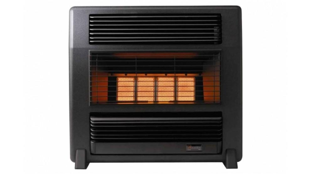 Everdure Lancer Unflued Natural Gas Radiant Heater - Black Marble