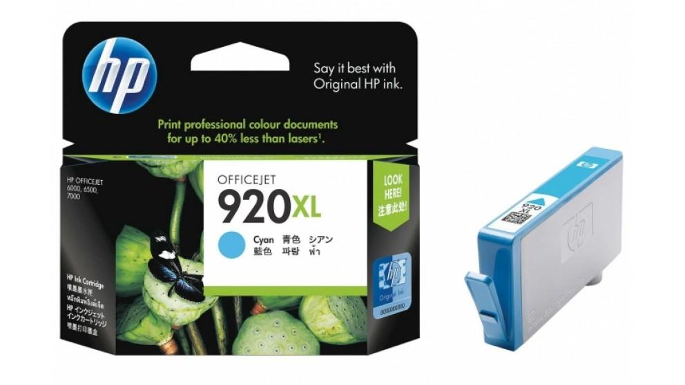 HP 920 XL Cyan Ink Cartridge