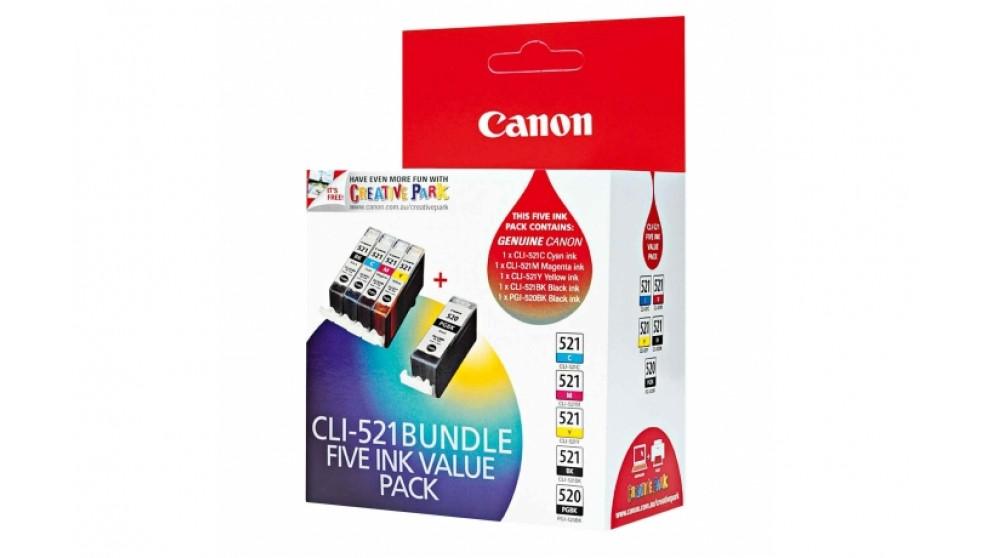 Canon CLI-521VP Ink Cartridge Bundle