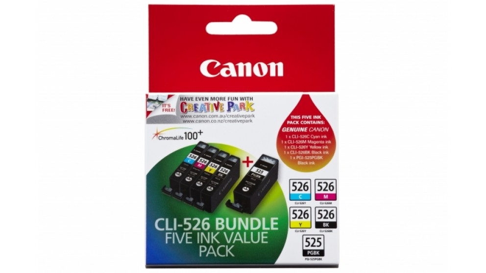 Canon CLI-526 Bundle Colour Ink Cartridge