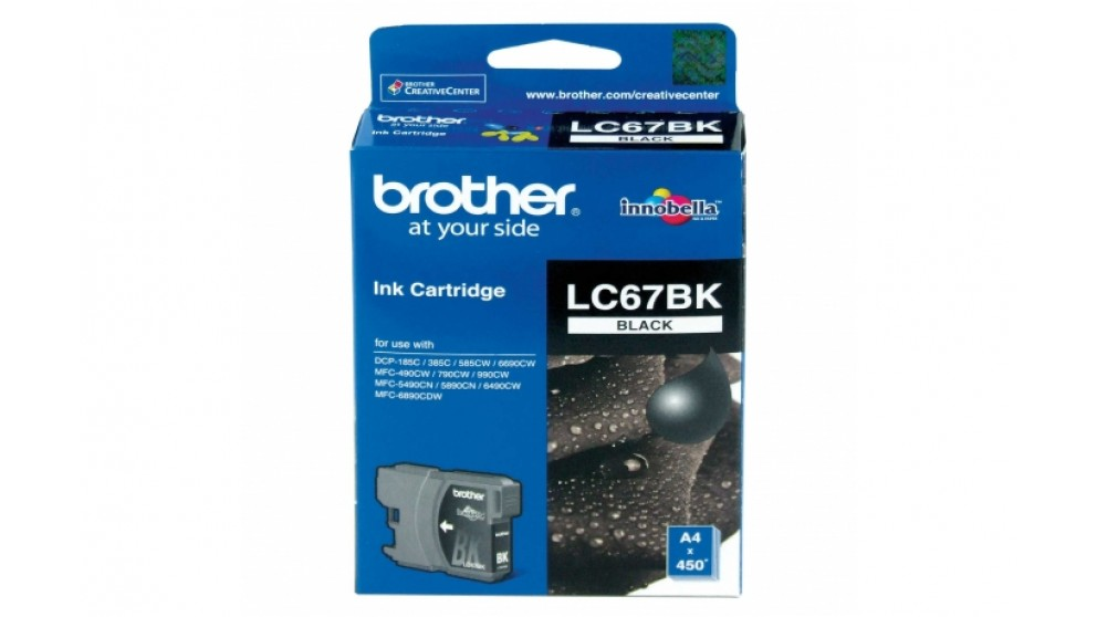 Brother LC-67 Black Colour Ink Cartridge