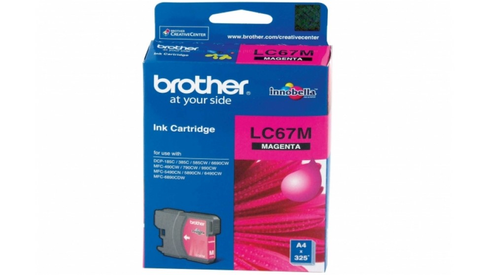 Brother LC-67 Magenta Colour Ink Cartridge