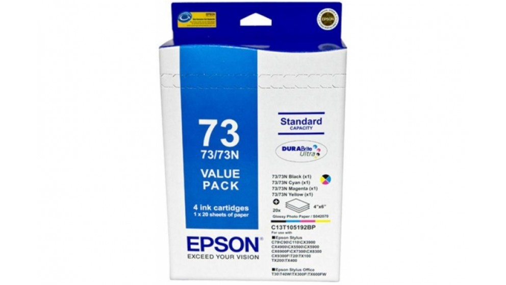 Epson 73N Ink Value Pack