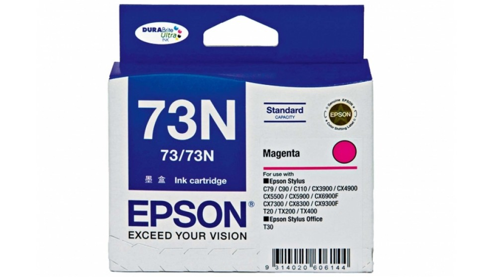 Epson 73N Magenta Colour Ink Cartridge