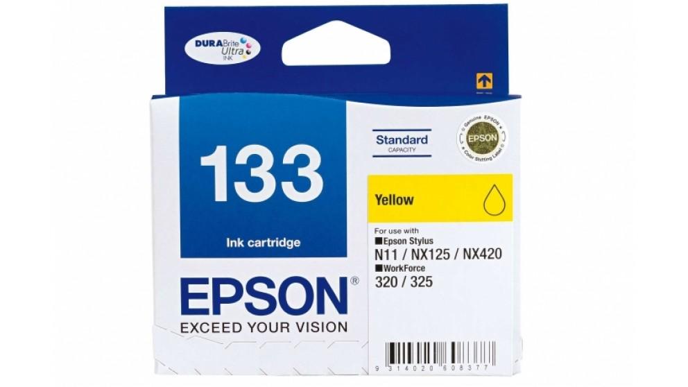 Epson 133 Yellow Colour Ink Cartridge
