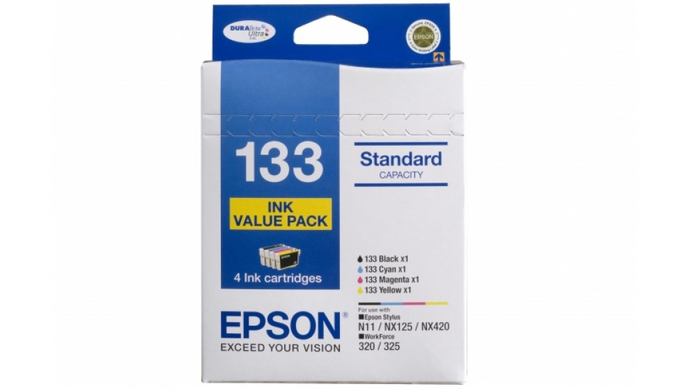Epson 133 Ink Cartridge Value Pack