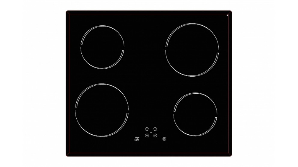 Smeg 600mm Ceramic Cooktop Stainless Steel