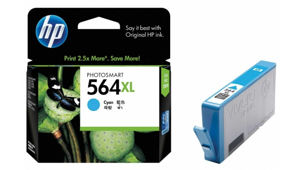 HP 564 XL Cyan Ink Cartridge
