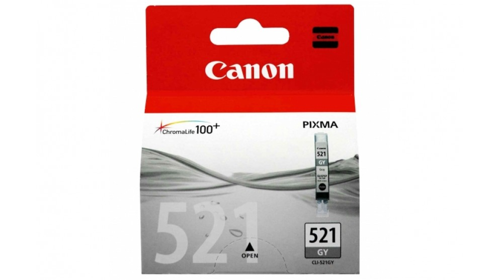 Canon CLI521GY Grey Colour Ink Cartridge