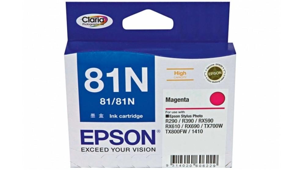 Epson 81N Magenta Colour Ink Cartridge High Capacity