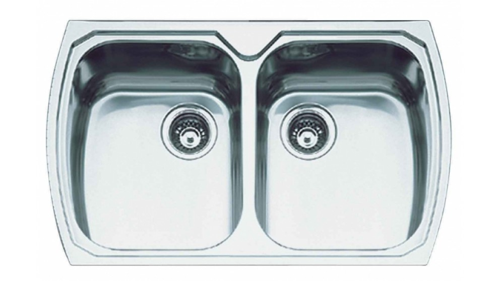 Oliveri Monet 90cm Double Bowl Sink