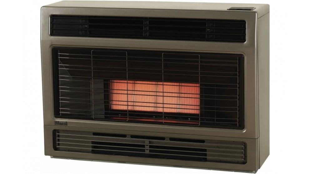 Rinnai Spectrum Space Natural Gas Heater Console - Metallic Brown