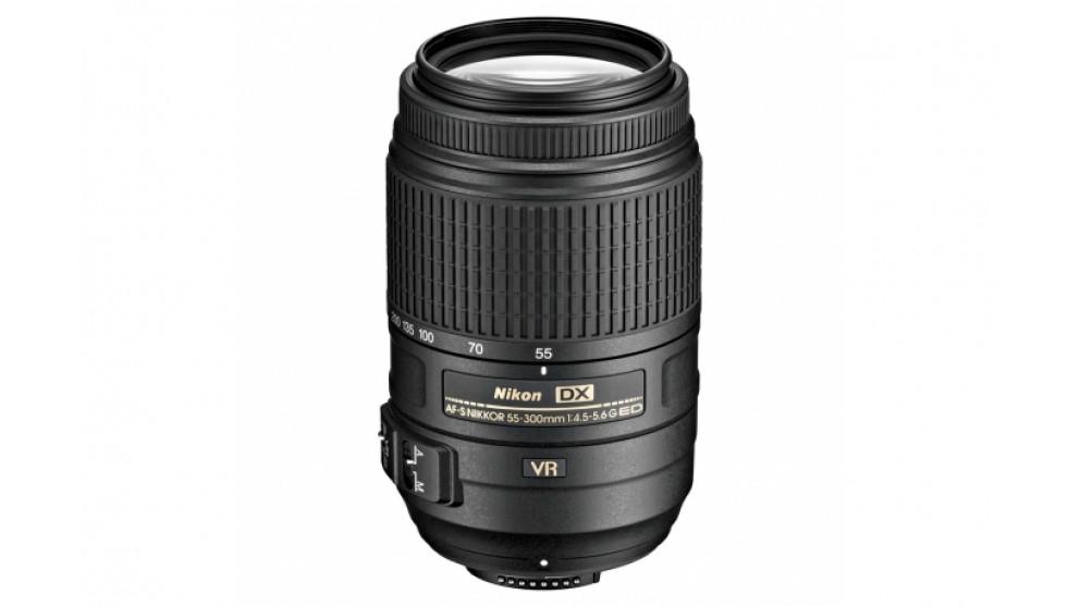 Nikon AF-S DX 55-300mm f/4.5-5.6G ED VR Camera Lens