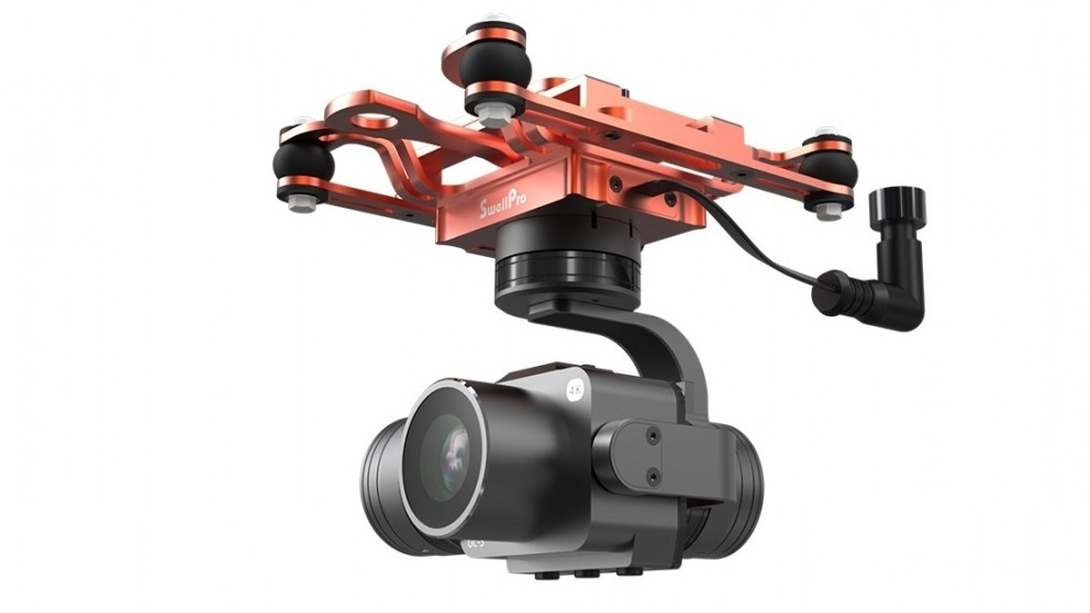 Swellpro Splash Axis Gimbal 4K Drone Camera