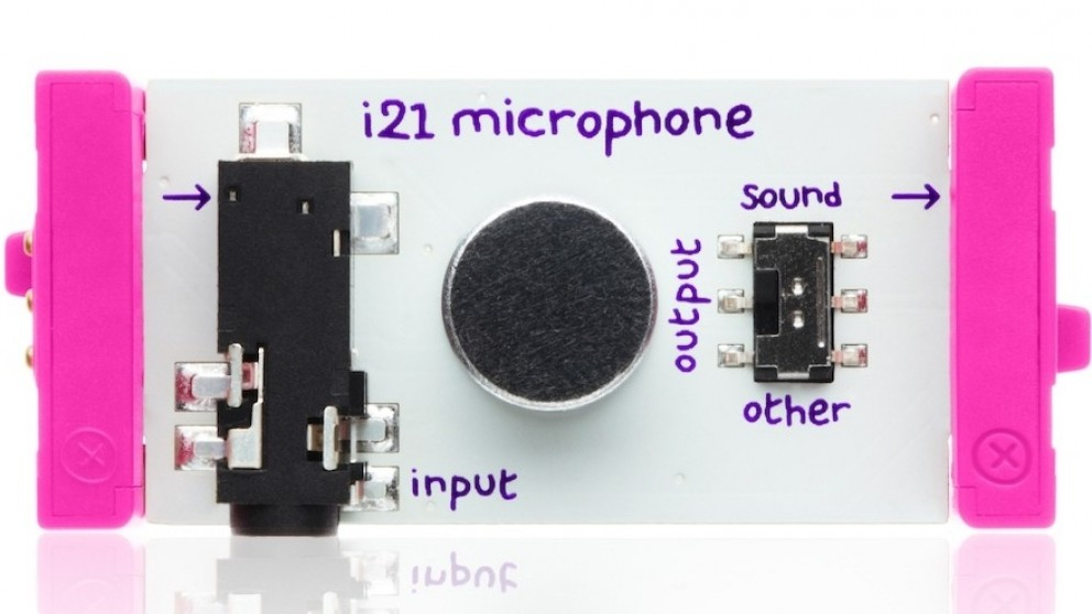 littleBits Input Bits Microphone