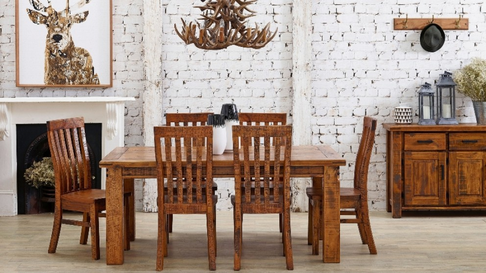 Settler 7 Piece Dining Setting Part 46
