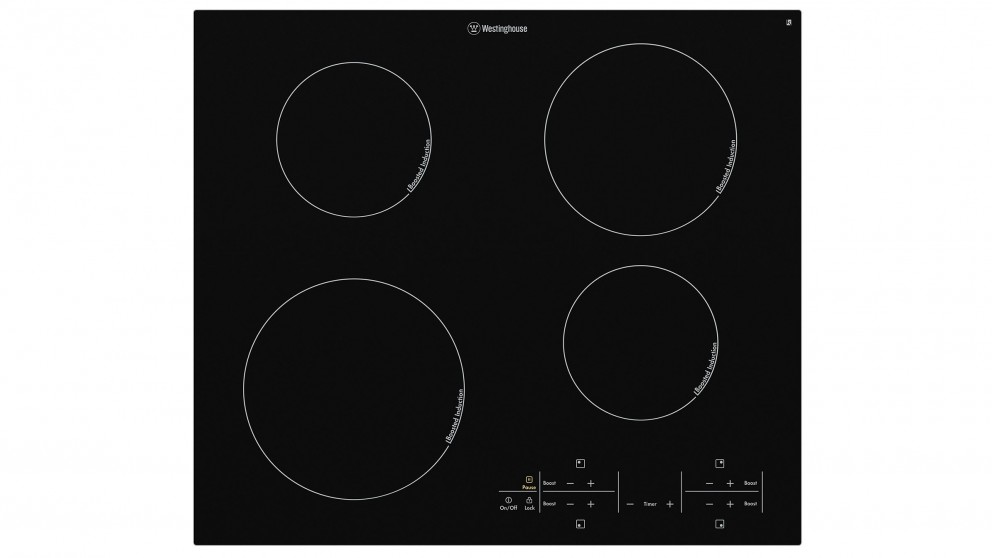 Westinghouse 600mm 4 Zone Induction Cooktop