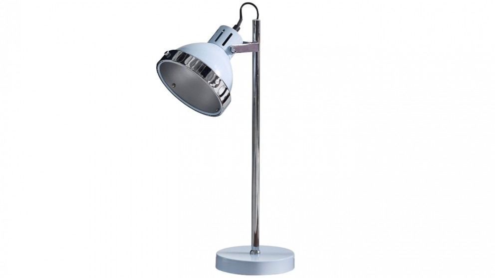 Caddy Blue Desk Lamp