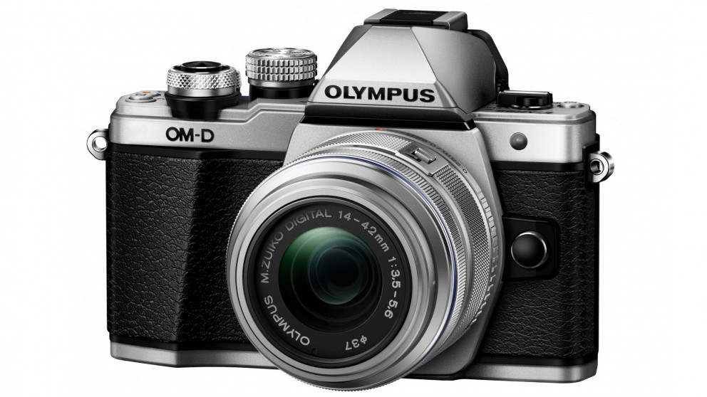 Olympus OM-D E-M10 MKII Mirrorless Camera with 14-42mm Lens Kit