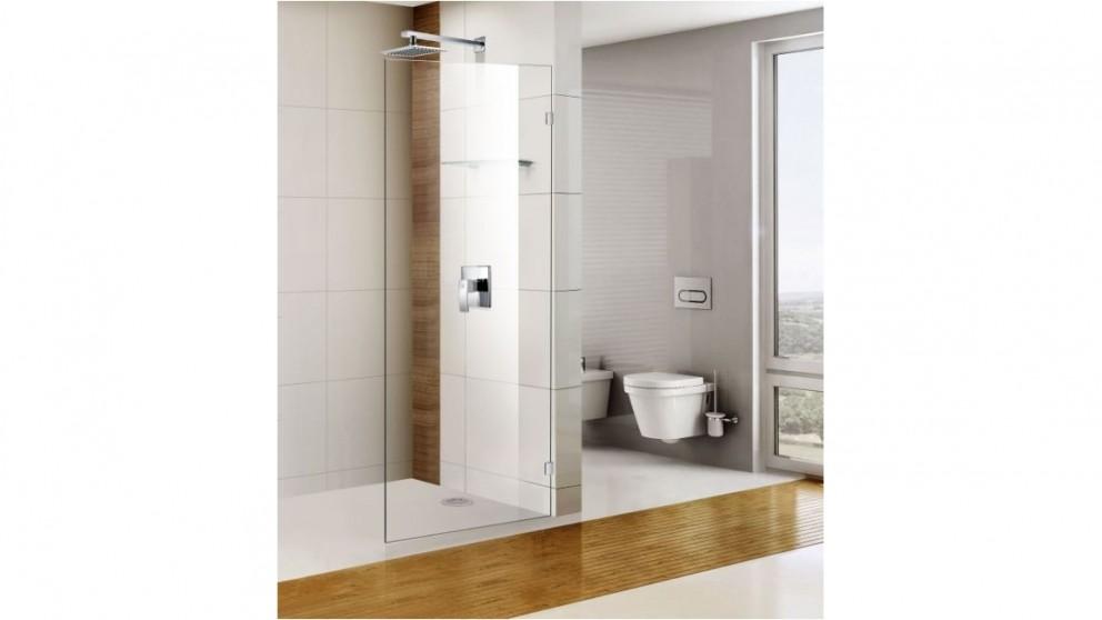 Cartia Yasmin 1200mm Fix Shower Panel With Nano Protection Glass Shower Screen
