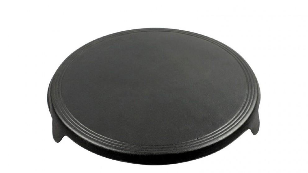Soga 33cm Cast Iron Crepe Pan