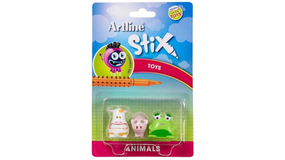 Artline Stix 3 Pack Animals Toys for Stix Drawing Pen