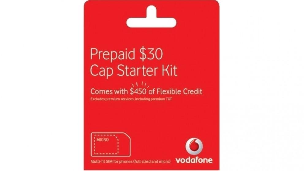 Vodafone $30 Multi-Fit Starter Pack