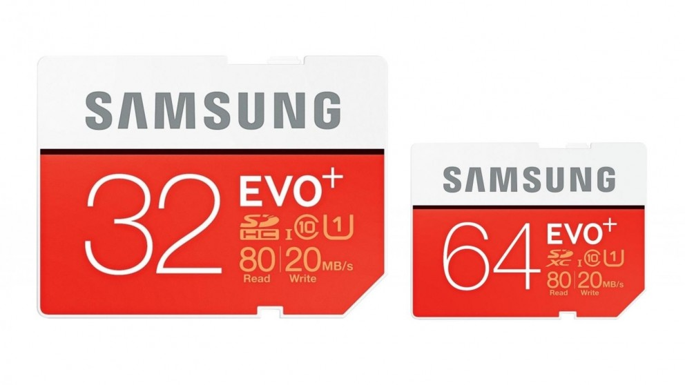 Samsung Evo Plus SD Memory Card